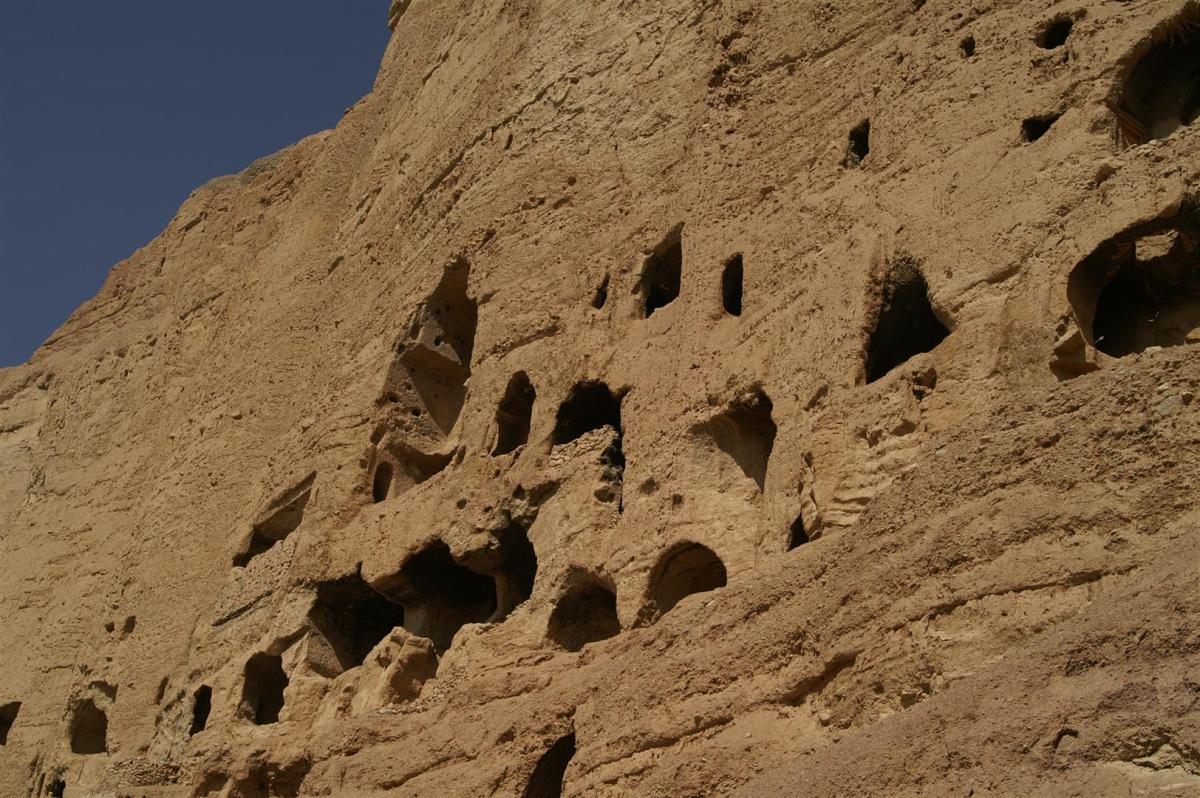 Die zerstörten Buddha-Statuen von Bamyan